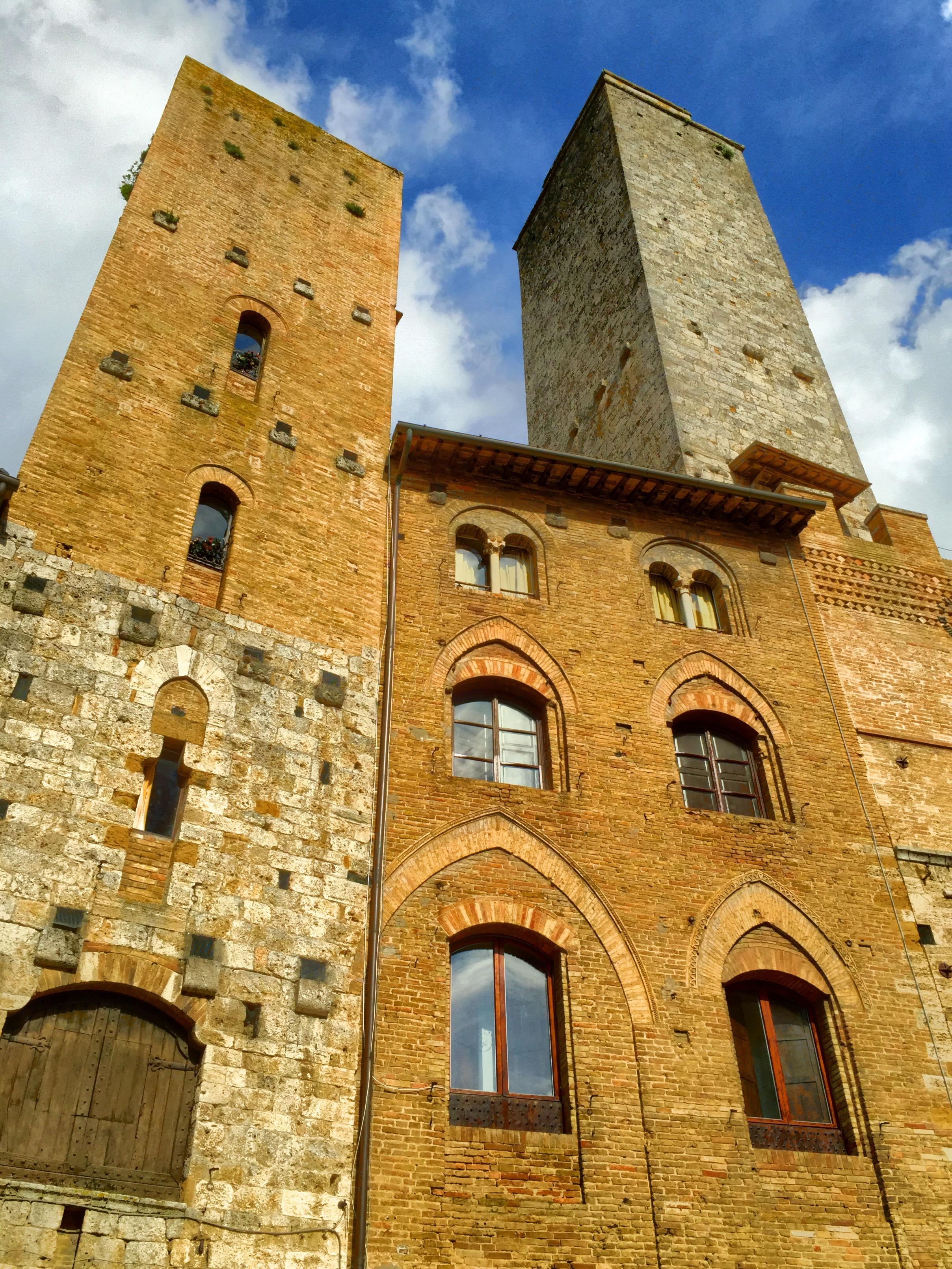 Towers in San Gimignano. Tuscany, Italy.