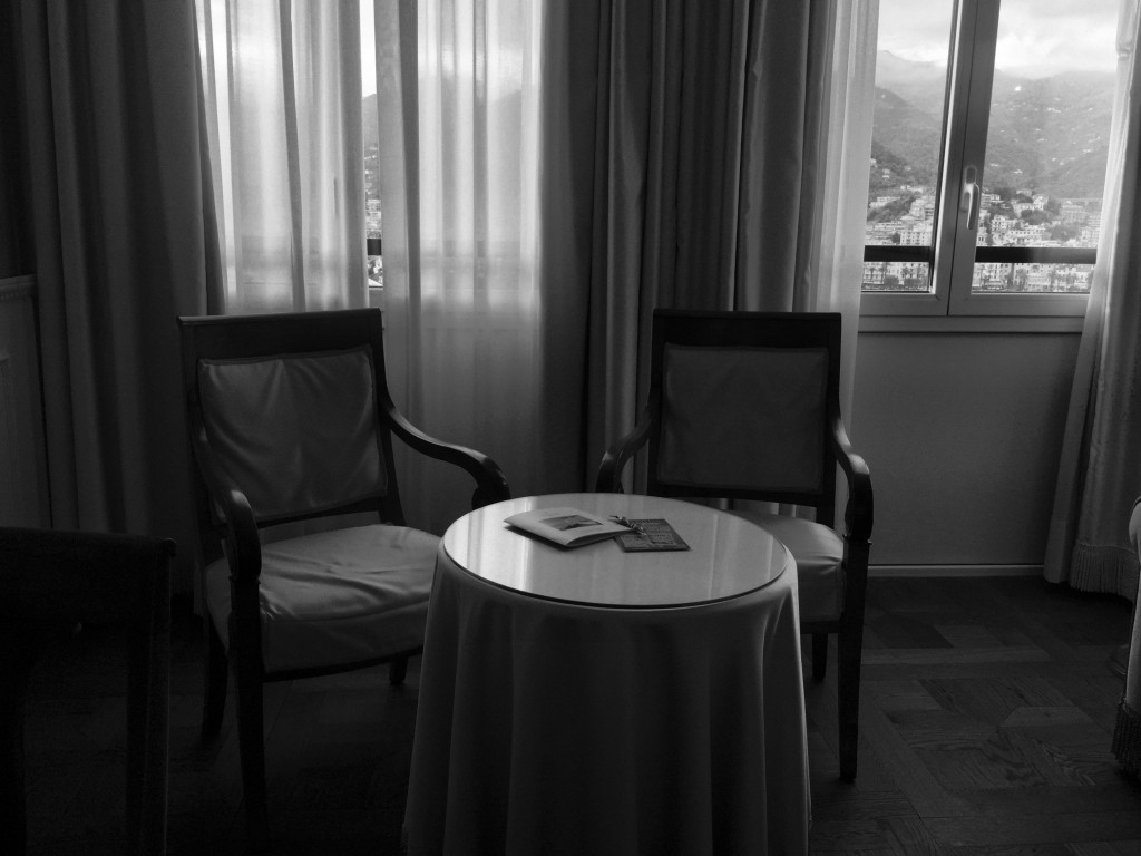 Excelsior Palace Hotel Room Interior in Rapallo, Italy.