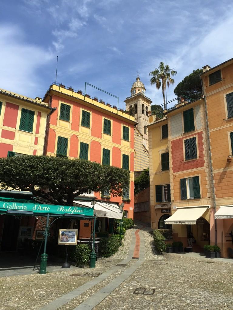 Portofino Street View, Italian Riviera, Italy