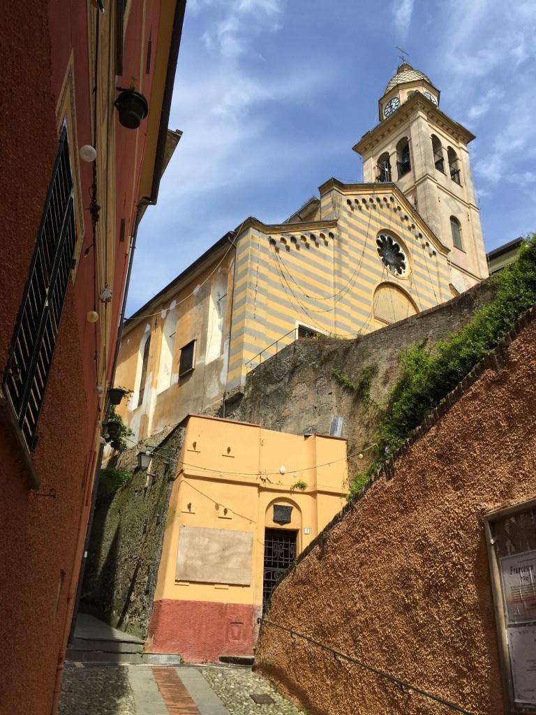 Church of San Giorgio,  Portofino, Italian Riviera, Italy